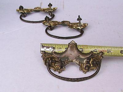 Vintage / Antique Victorian Drawer Pulls Handle Hardware  Repurpose 4