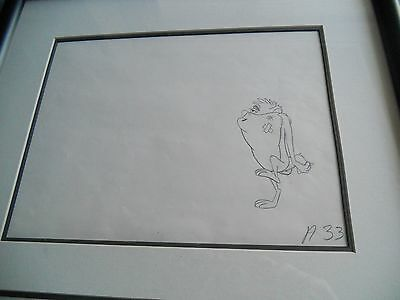 Two Taz Original Production Drawings - Dr Devil and Mr Hare 1964