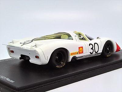 Porsche 917 Spa 1000km First race 1969 Spark Endurance Info 1//43 from JAPAN
