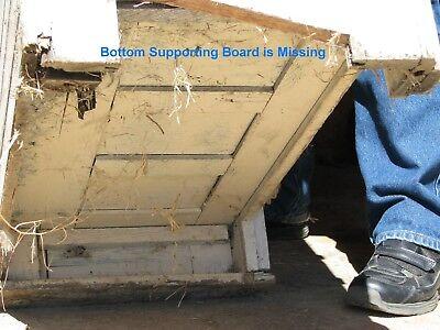 Antique Wooden Ice box 9