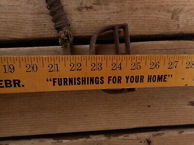 Vintage Antique Hand Pump Rare Cast Tool Farm Salvaged Barn Fresh non working 11