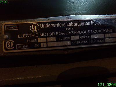 US MOTORS 7.5 Hp 3Ph 870 Rpm Hazardous Locations Over Temp ... on