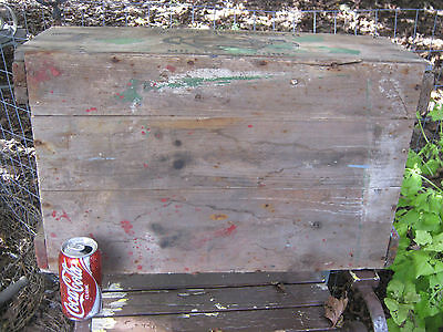 Antique Primitive Ct Country Hardware Store Wood Box Clark Bolt Co Usa Tool Sign 6