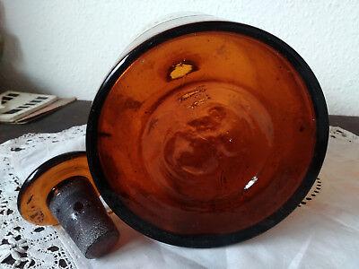 Apothekerflasche;Cera perliquida;3 ltr.;braunglas;geschl. Stöpsel;Loft;Deco 3