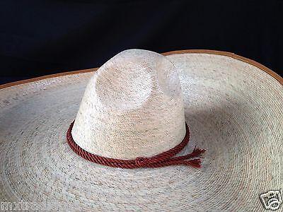 58550f4d3ed4b MEXICAN HAT CHARRO Green Palm Size 7 1 8.Sombrero Charro Palma Verde ...