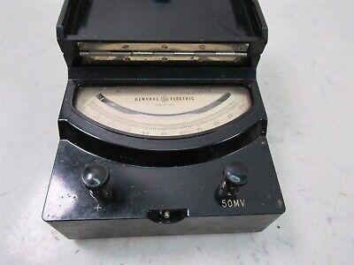 Vintage General Electric Type DP-9 DC Voltmeter Model 8DP9ABA1 Test Unit 2