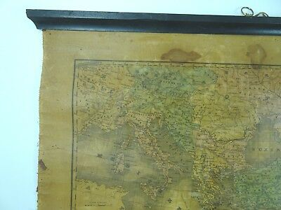 An Ancient Or Bible Map E Huntington Hartford Connecticut  MEDITERRANEAN 1831 3