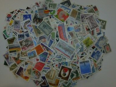 Hoard Of 2 million Used CANADA Stamps 100 To 1500 ALL DIFFERENT Fine To veryFine 4