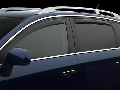 WeatherTech Side Window Deflector Light Tint 1998-2005 Mercedes ML-Class
