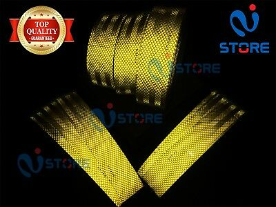DOT-C2 Conspicuity Reflective Tape Yellow Safety Warning Tractor Bus Car RV Bike 2