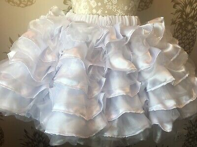 Made To Measure * Sissy Maid * Huge Ten Layer Satin And Organza Petticoat 2