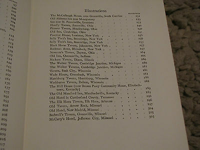 Early American Inns and Taverns Book 365pp Illustrated Photos - Elise Lathrop 10