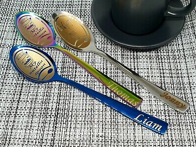 2020 Christmas Spoon with gift box Xmas idea Engraved Personalized 2021 Gift