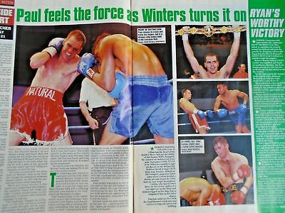 BOXING NEWS - 27 feb 1998 - eubank, mcdonnell, holyfield, lewis free p&p to uk 4
