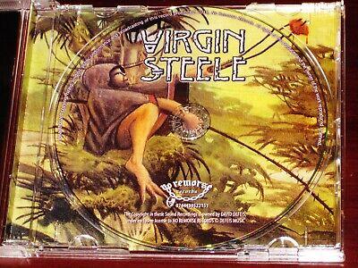 Virgin Steele: II - Guardians Of The Flame CD 2018 Bonus Tracks No Remorse NEW 2