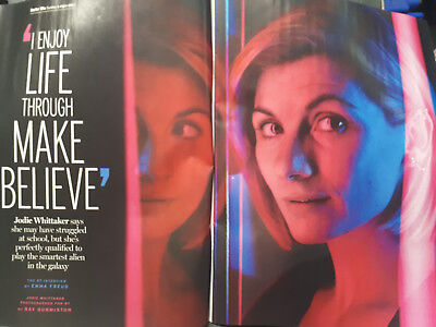 RADIO TIMES Magazine 8-14th December JODIE WHITTAKER 13th Doctor Who Cover XMAS