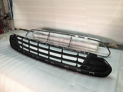 10 11 12 Ford Fusion Bumper Grille And Chrome Trim *Set* W/O Sport New Fo1036127 3