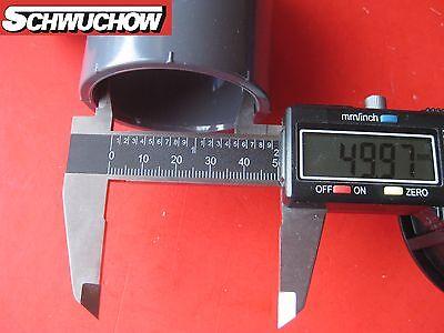 10 Stück PVC Winkel Bogen 45° Grad d 50 mm DN 40 innen / innen Pool Wasserrohr