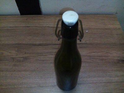 Alte Glas Bierflasche,Bügelverschlussflasche,Bierflasche 3