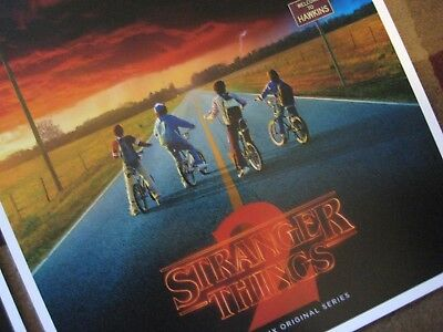 """Stranger Things (11"""" x 17"""")  Collector's Poster Prints  ( Set of 3 ) 6"""