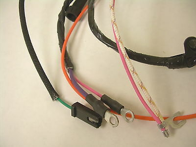 1965 1966 IMPALA Belair Biscayne Engine Wiring Harness 283 ... Impala Wiring Harness on