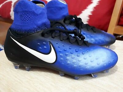 6927ebf7de1c ... 2 of 10 Boys kids Nike magista sock football boots   Astro turf size 4  small fitting 5