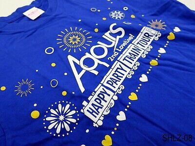 Love Live Sunshine Aqours Happy Party Train Tour Saitama T-Shirt Free Size L