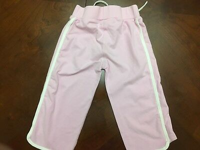 Next Little Girls Tie Front Jogging Trousers  Age 3 Years Ex Cond 3