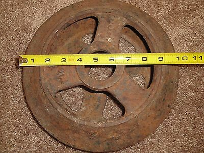 Vintage Farm Equipment Steel Wheel Man Cave Decor  Roller Dirt Packer 4