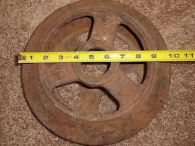 Vintage Farm Equipment Steel Wheel Man Cave Decor  Roller Dirt Packer