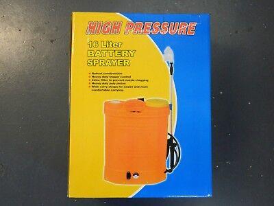 Backpack Weed Garden Sprayer Knapsack 16 Litre 12v 240v  Battery Cordless Spray 7
