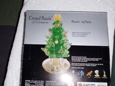 Tannenbaum Puzzle.3d Crystal Puzzle Christbaum Tannenbaum Puzzles Kristallpuzzle 69 Teile