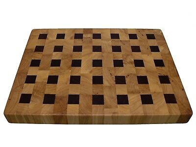 Cutting Board End Grain with Feet, Wooden, Handmade, Butcher Block, Cheese Board 4
