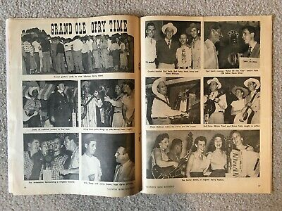 December 1952 COUNTRY SONG ROUNDUP Magazine - Eddy Arnold/Kitty Wells/Ray Price 6