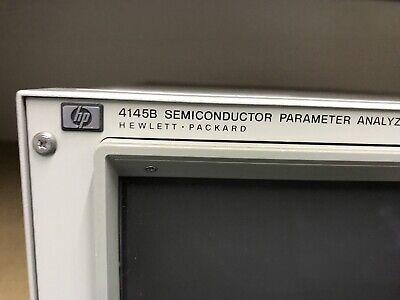 HP 4145B Semiconductor Parameter Analyzer Hewlett Packard ID-AWW-AWW-9-3-4 6