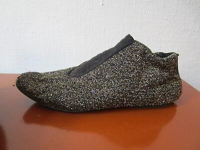 VINTAGE 80ER DAMEN Schuhe Slipper Sneaker Jazz 80s 37 gold