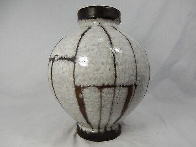 """Rare / seltene 60´s design Carstens Luxus """" Lava """"  Keramik Vase  191 - 23 2"""