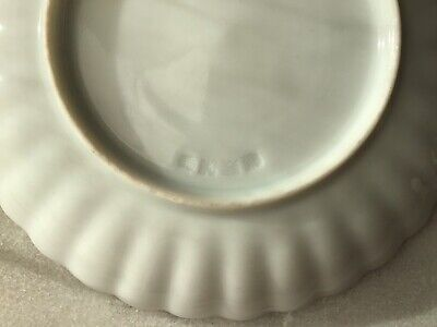 Rare Antique Chinese Export Thin Porcelain Hand Painted Tea Cups & Saucers 6