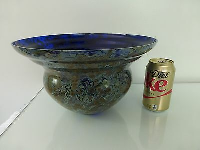 Sasaki Art Glass Vase Bowl Poss By Soichiro Sasakura Labeled