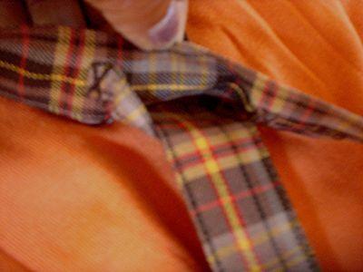 e488e5f84295f ... Jolie Jupe Ecossaise A Bretelles Orange+Top De Marque Sergent Major 5  Ans Fill 11