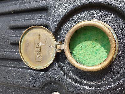 Vintage Miniature Bronze / Brass Neptune Trident Water Meter New York Box