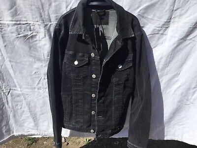 Veste jean noir Jack and Jones, taille S 5