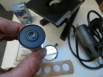 (4816) Altes Mikroskop W u. H. Seibert Wetzlar Nr. 40557 mit Zubehör 5