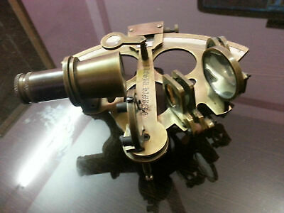 """Antique Style Nautical Sextant 6"""" Vintage Marine Royal Navy Working Instrument 5"""