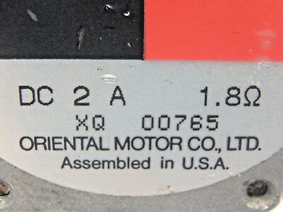 Vexta PK266M-02A Oriental Motors Stepping Stepper Motor 2-Phase 0.9 Deg/Step 3