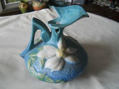 Original Roseville Clematis Ewer Vasepitcher 16 6 5757 Picclick