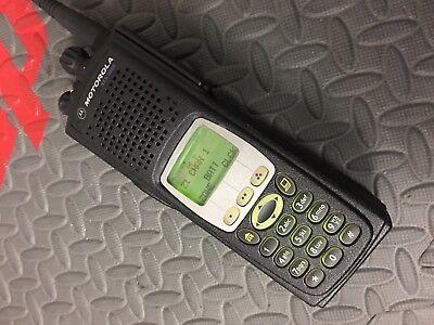 MOTOROLA XTS5000 MODEL Iii Vhf P25 Digital Radio Pkg -W- Fpp! Police, Fire,  Ems