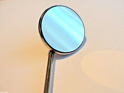 10  dental mouth  Mirrors size no.5  with handle , front surface mirror from UK