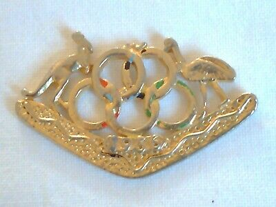 Olympic Games Collectable 1956 Melbourne Vintage Games Emblem and Coat of Arms 4
