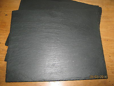 Handmade Welsh Natural Slate Placemats /& Coasters-set of 2,4,6,8-16 Xmas Gift